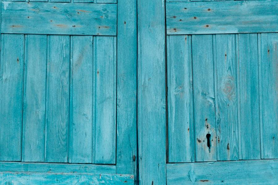 Blue Wooden Door free texture
