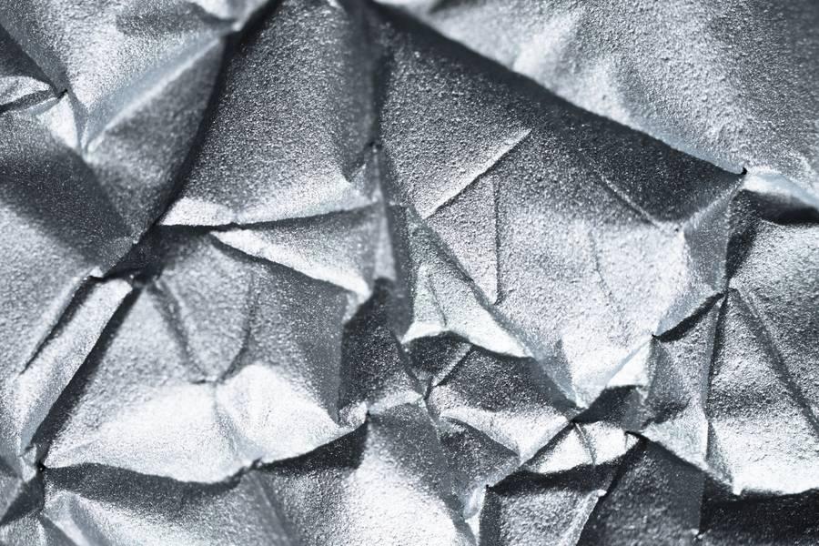 Shiny Silver Metallic Paper free texture