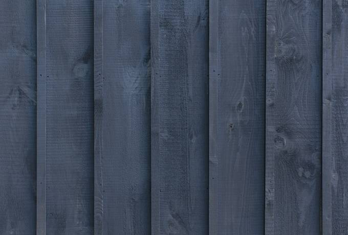 Black Wooden Stained Wood Planks