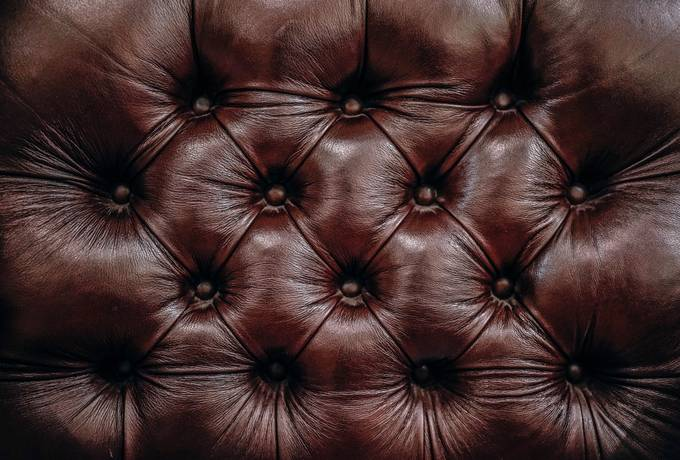 free Black Quilted Leather texture