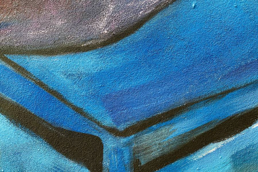 Blue Abstract Paint free texture