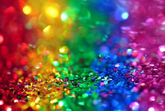 free Sequined Rainbow texture