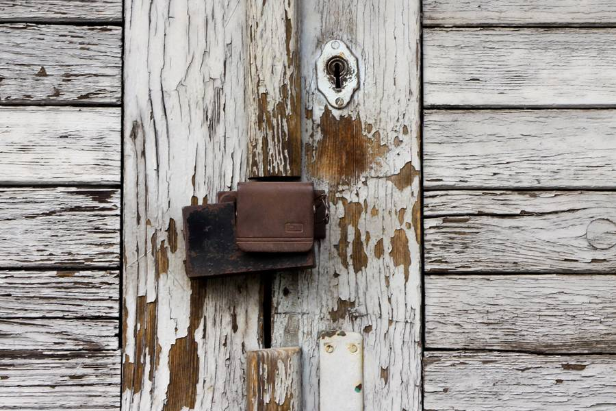 door lock wood free texture