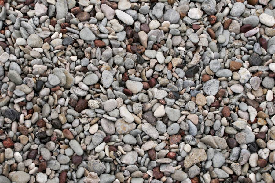Colorful Sea Pebbles free texture